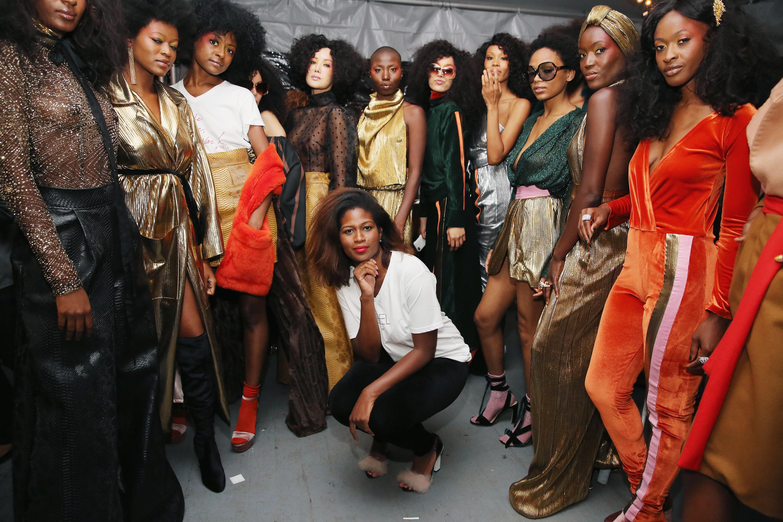 Harlem's Fashion Row - Backstage - September 2017 - New York Fashion Week